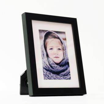 Harga Fotable Black Frame - Table Top Photo Frame - 4R / 6R Photo Print