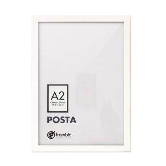 frambie posta white poster frame a2 size picture frame - White Poster Frame