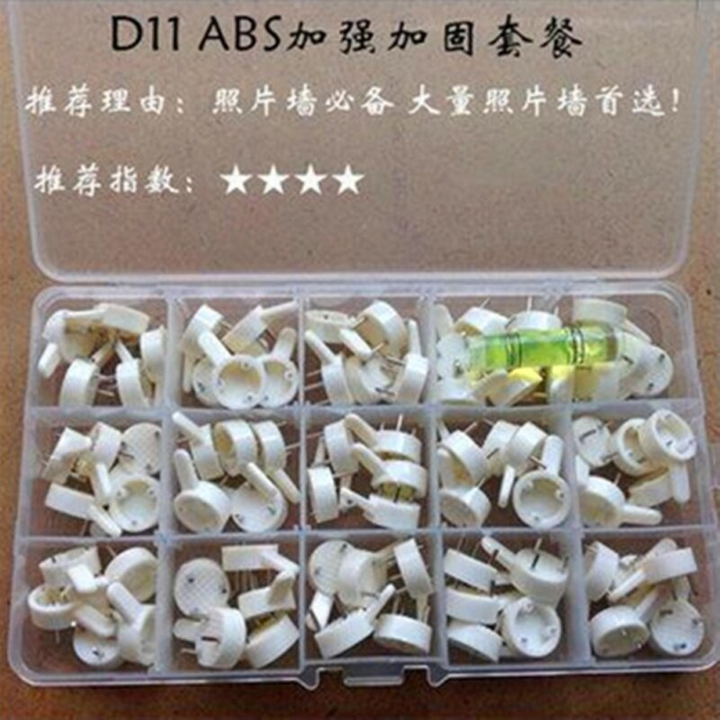Buy free shipping 75pc in 1 Invisible Hardwall Drywall Picture-Hanging Hooks Frame Photos Clock Hanger Wall Studs Malaysia