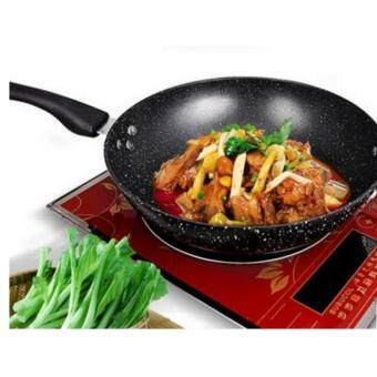Freemarket 32cm High Quality Non-Stick Star Frying Cooking Wok Pan
