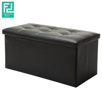 Harga FURNITURE DIRECT MULTI FUNCTION PU STORAGE BENCH- BLACK