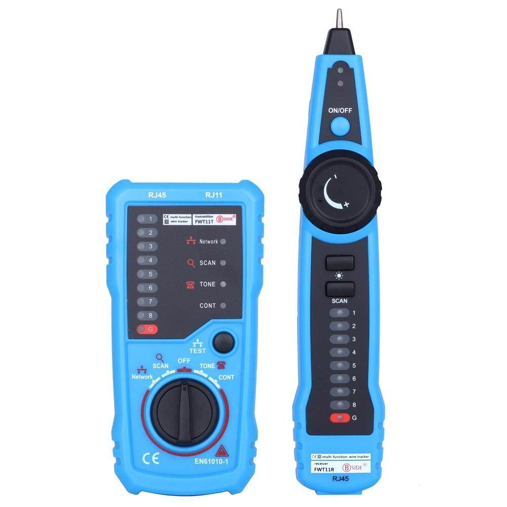 FWT11 HANDHELD RJ45 RJ11 NETWORK TELEPHONE CABLE TESTER WIRE LINE ...