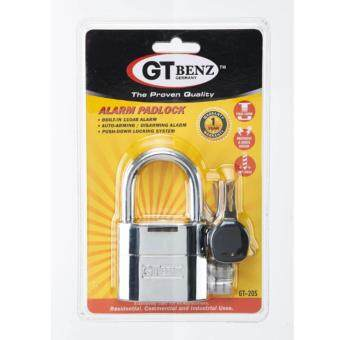 Harga Germany GT Benz Alarm Padlock GT-205 (German Technology)