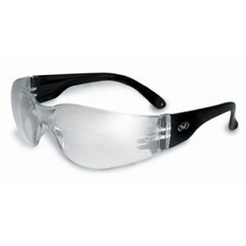 Global Vision Eyewear Rider Safety Glasses, Clear Lens