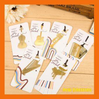 Gold Plated Instruments Style Bookmark Set V1