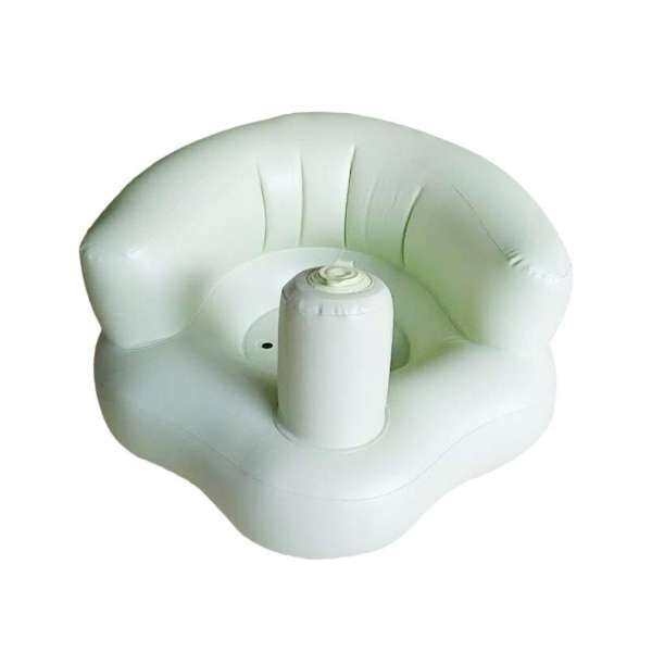 welovestore GOOD Funny Design Inflatable Baby Kid Children Sofa Widened Thickened Sofa Chair green - intl