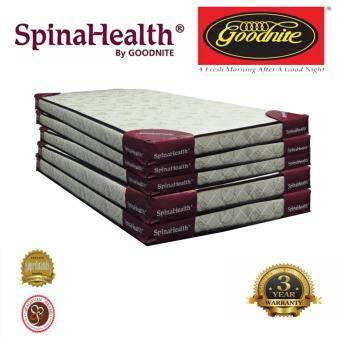 Harga Goodnite SpinaHealth Package 5 inch Single Foam Mattress(5pc)