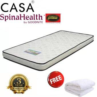 "Harga Goodnite Spinaheath Foam Thickness 5"" Single i-Foam Mattress With Free Mattress Protector"