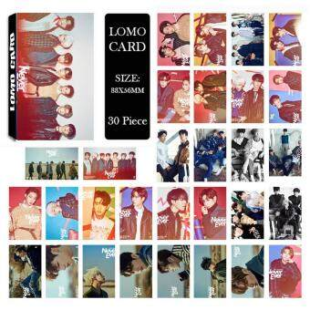 Harga GOT7 Shopping Mall Never Ever Album Kpop LOMO Cards New FashionSelf Made Paper Photo Card HD Photocard LK463