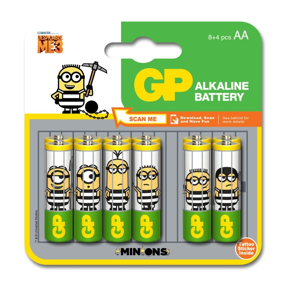 GP BATTERIES MINIONS DM3 AL...
