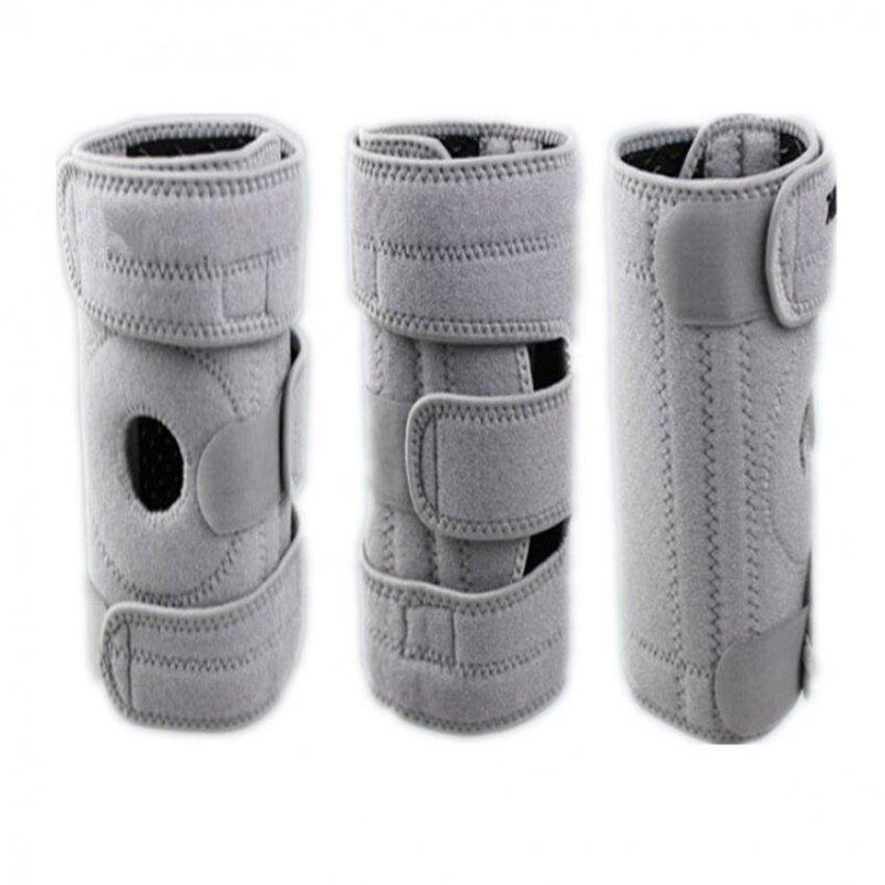 Buy Gray 1Pcs Knee Pad Sports Safety For Left Leg Hiking Cycling Knee Protector Malaysia