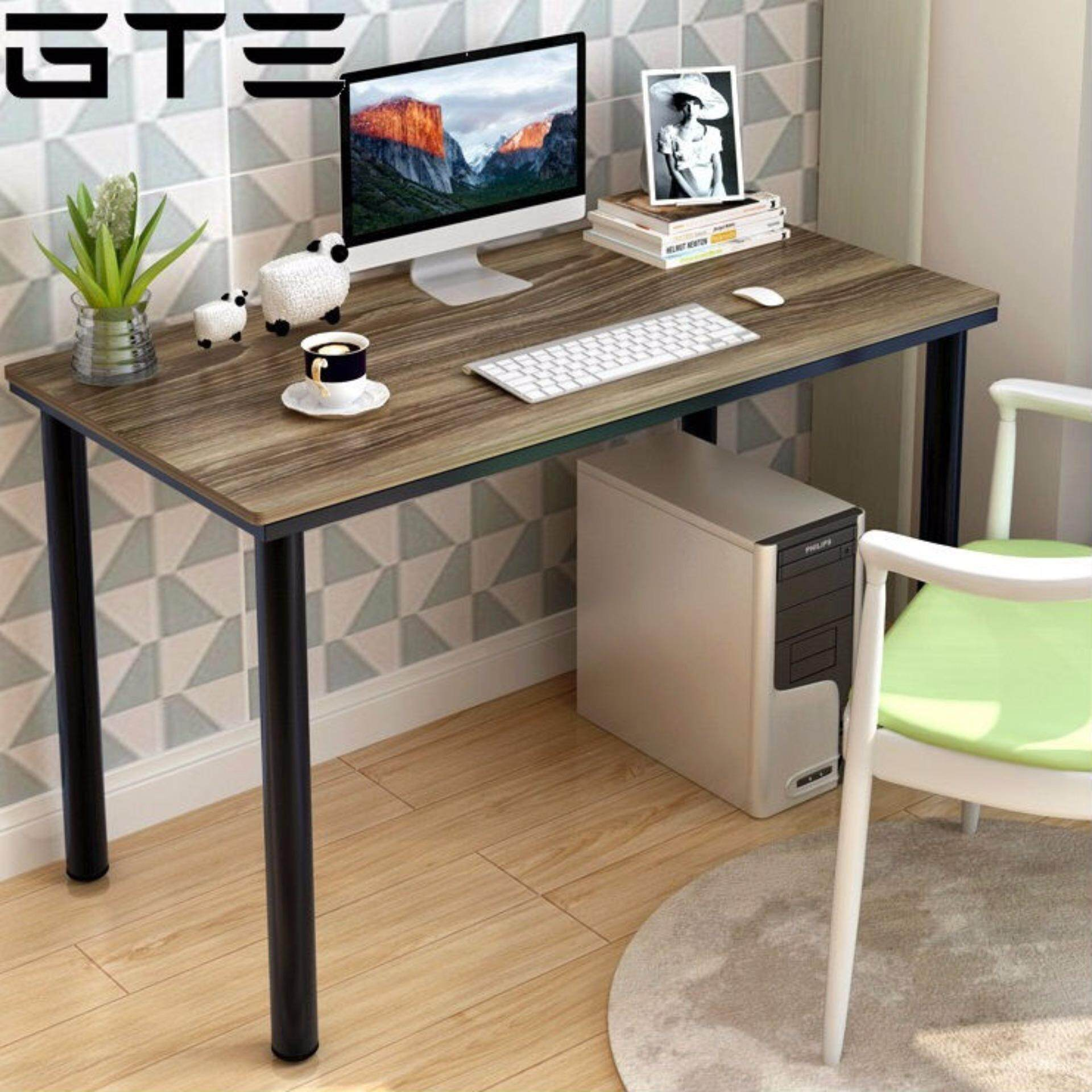Gte 120b 1 Simple Modern Wooden Desktop Laptop Desk Home Office Table Study 120cm X
