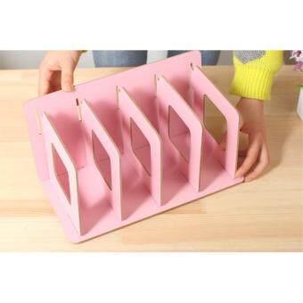 Jual diy portable stationery rack rak buku tempat majalah Source · GTE Creative DIY Wooden Desk