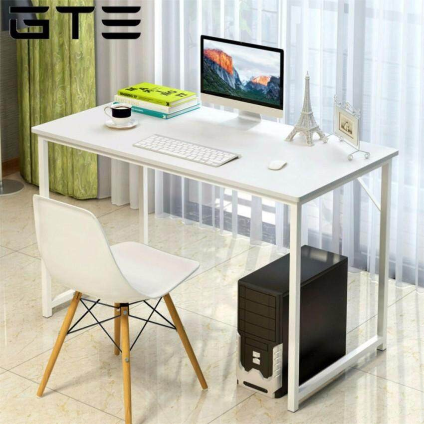 Gte Simple Home Living Wooden Desktop Laptop Desk Office Table Study