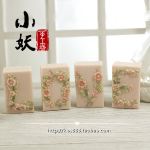 Harga H001diy love love handmade soap fragrant soft silicon silicone mold chocolate fondant pudding mill resin