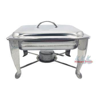 Harga Half Size Stainless Steel Chafing Dish Buffet Warmer set (7cm)