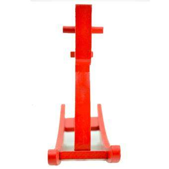 Handmade Wooden Red Rocking Horse-Set of 2 - 5