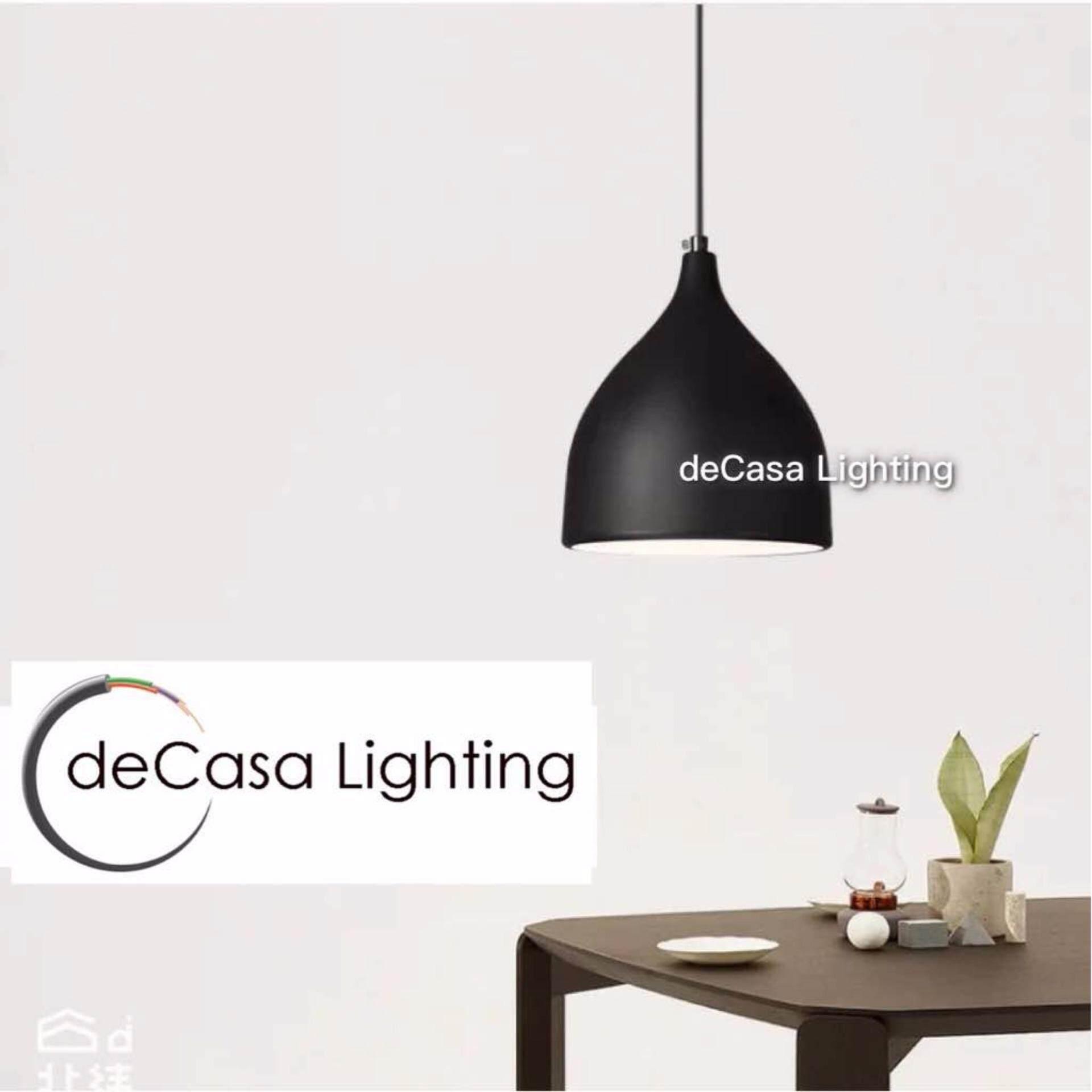 Hanging Light DECASA Black Designer Decorative Pendant Light Best Seller Ceiling Light Lighting LY