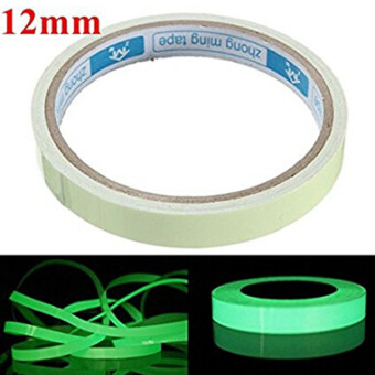 Harga Hanyu Luminous Photoluminescent Tape Green Glow in the Dark StickerFilm for Warning Labels
