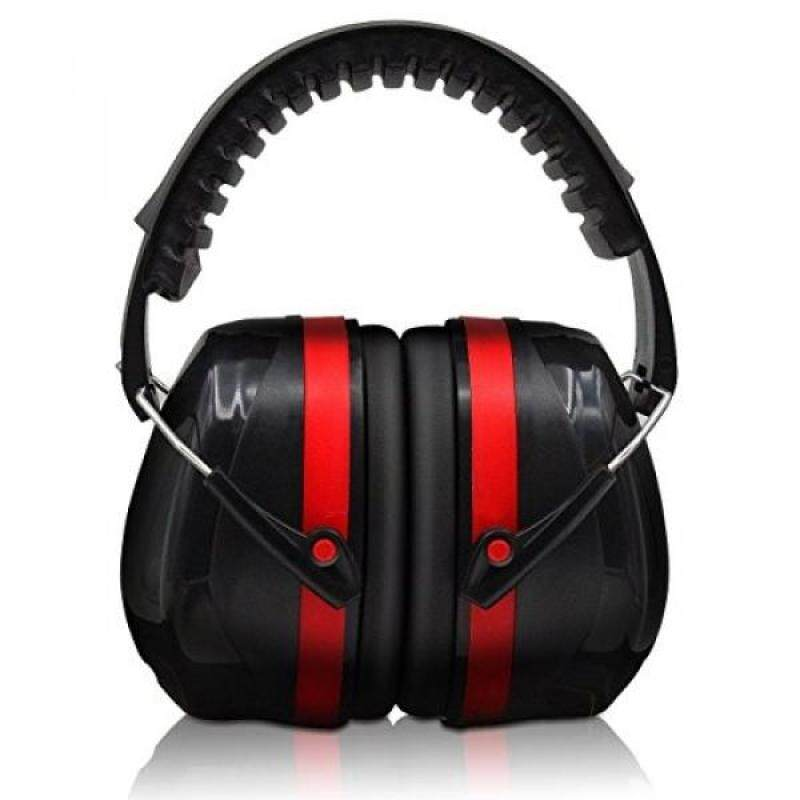 Hearing Protection, Safety Ear Muffs EN352-1 Shooters Hearing Protection Adjustable Padded Head Band & Swivel Ear Cups, Ear Defense by Warmhoming
