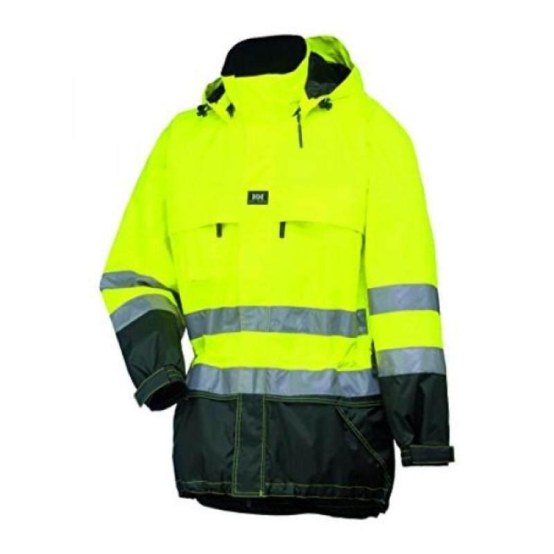 Helly Hansen Work Wear Mens Potsdam Jacket, EN471 Yellow/Charcoal, 6