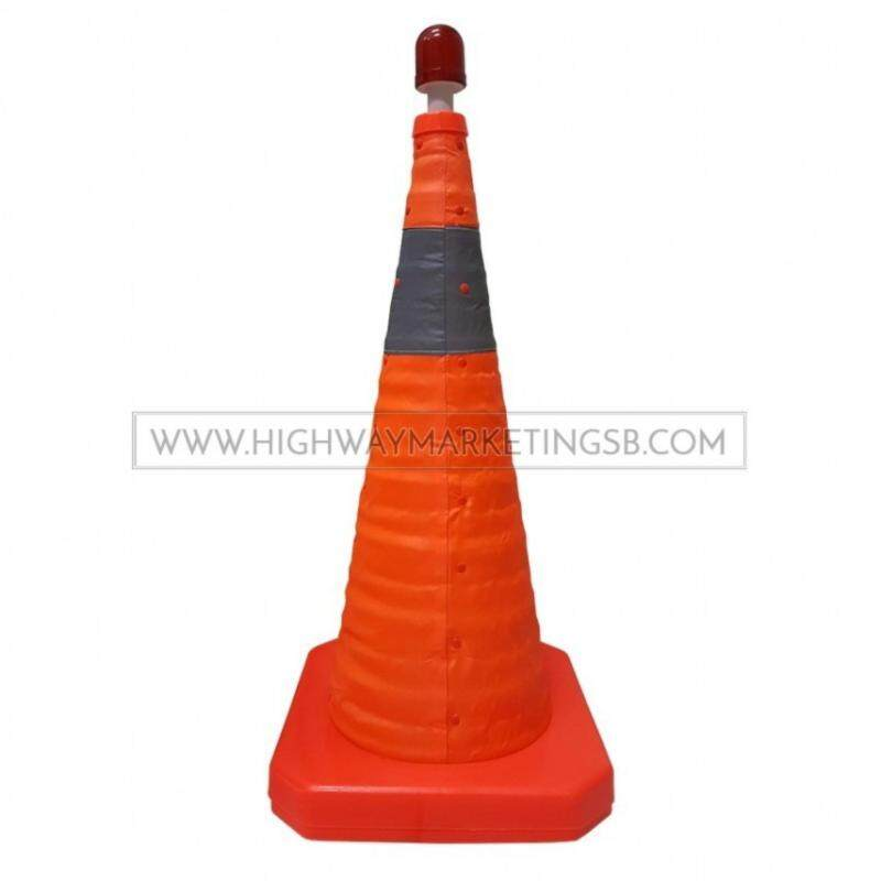 Buy Hi-Safe HSF-40-2005 Retractable/Foldable Safety Traffic Road Cone Malaysia