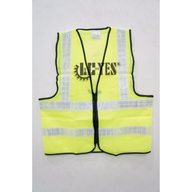 Buy Hi-Vis Safety Vest Reflective Jacket Security Waistcoat WITH ZIP Fluorescent Neon Orange Green HS724-1 Malaysia