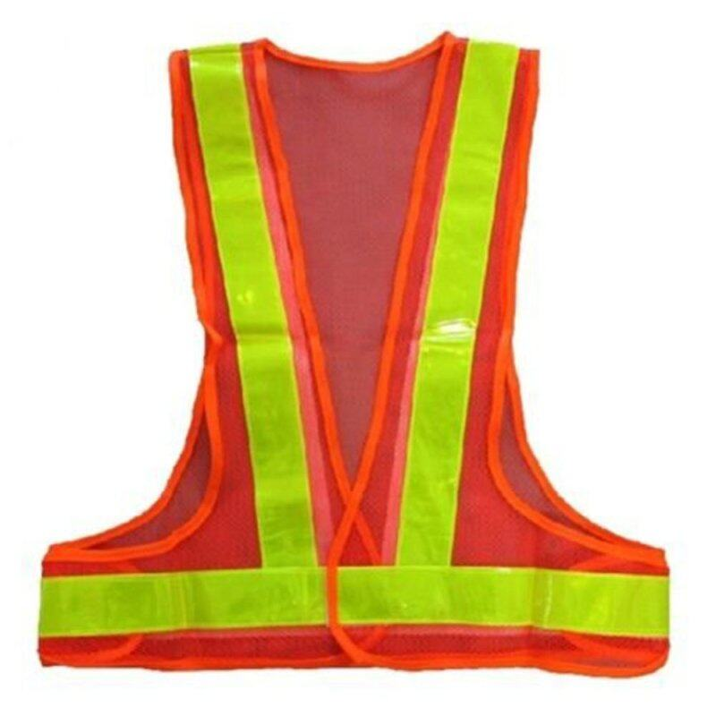 Buy Hi-Viz Reflective Vest High Visibility Warning Traffic Construction Safety Gear red Yellow Malaysia