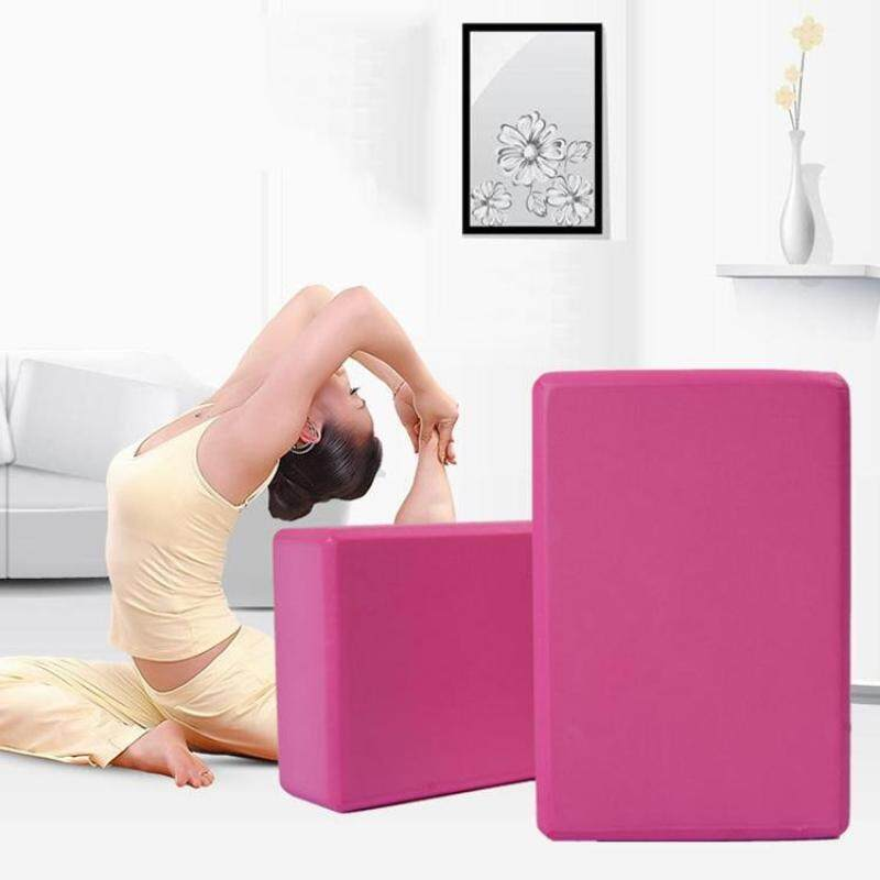 Buy High Density Yoga Block Foam Brick Women Home Exercise Fitness Health Gym Practice Tool, Size:23*15*7.5cm Malaysia