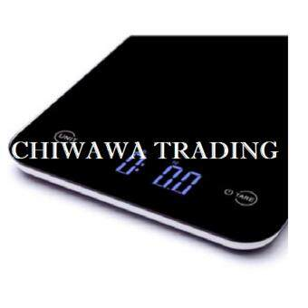 High Precision Electronic Digital Kitchen Weighing Scale, Food Diet Postal Measurement Scale 5kg 5000g (Black)