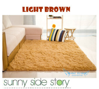 High Quality Premium Living Room Carpet 160 X200 CM LIGHT BROWN