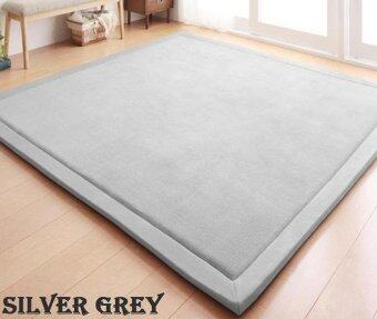 Harga High Quality Store New Vogue Floor Carpets Comfort and Smooth MatsJapanese Styles Rugs(grey)