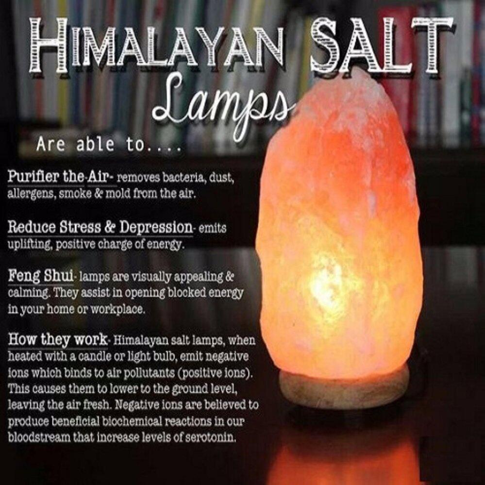 Himalayan Crystal Salt Lamp Full Set (2 Kg) | Lazada Malaysia