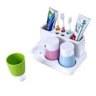 Bathroom Organiser homebase] creative designed colourful toothpaste toothbrush