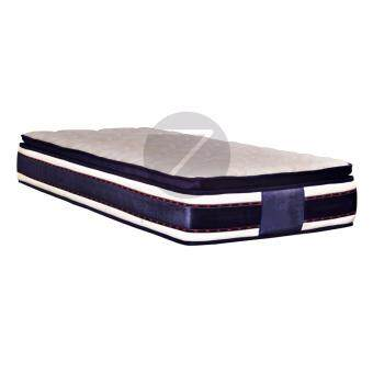 Harga Homez 3V 11.5 inch Pillow Top  DPC Spring Mattress - Single Mattress (Bujang)