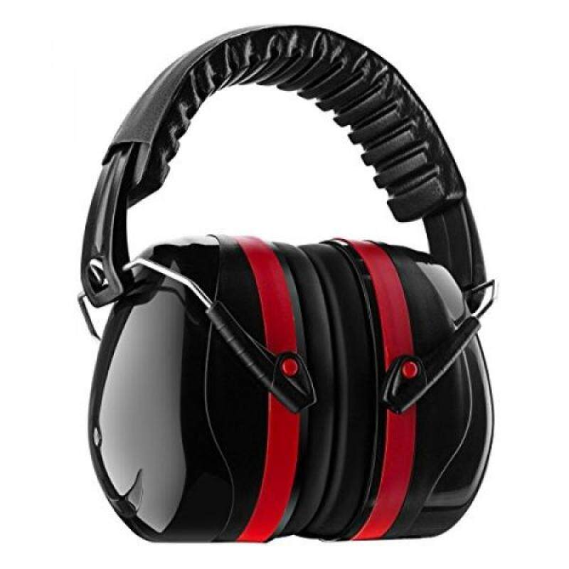 Buy Homitt Sound Ear Muffs Hearing Protection Ear Defenders with Noise Cancelling Technology for Shooting, Hunting, Working or Construction – Red and Black Malaysia