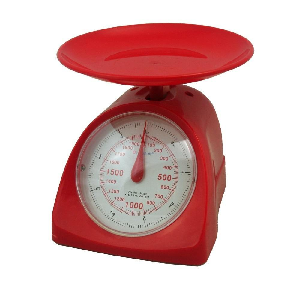 HOMSUIT Kitchen Scale 2kg - Red