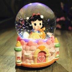 Honey To Send His Girlfriend Snowflake Crystal Ball Music Box Creative Birthday Gift Girls Graduation