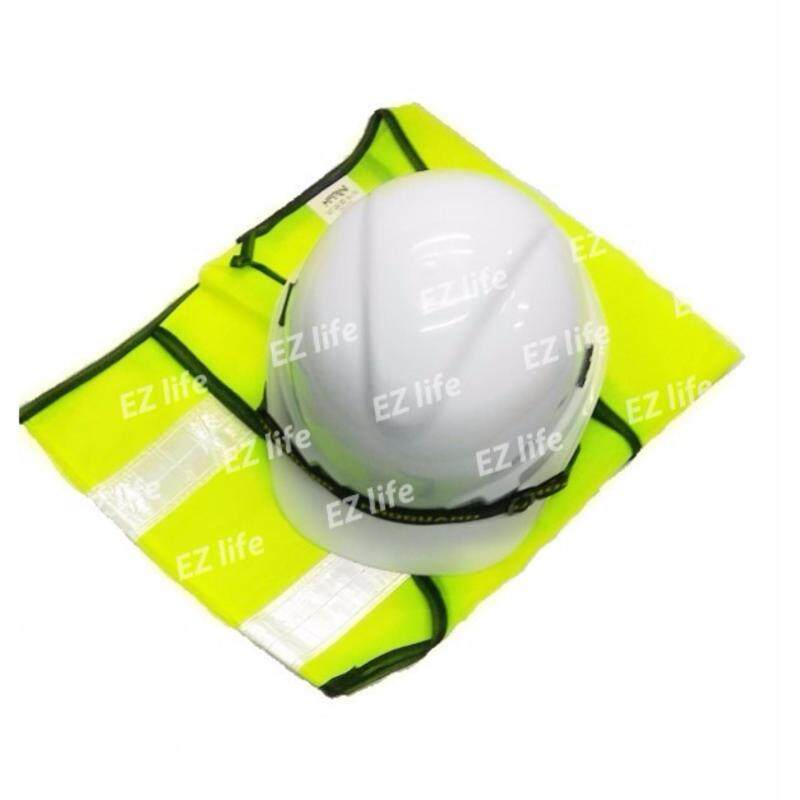Buy HOT ITEM (Safety Helmet White Colour SIRIM And Reflective Vest ) for Construction Or Industry Malaysia