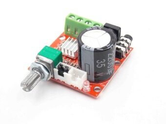Harga Hot Sale 12V Mini Hi-Fi PAM8610 Audio Stereo Amplifier Board 2X10WDual Channel D Class Lowest Price