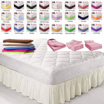 Hotel hotel bed supplies hotel bed skirt bedspread hotel bed sets pleated bed skirt custom color size
