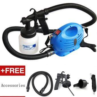 Harga HVLP Spray Gun Mini Air Paint Spray Guns Airbrush For Car AerographElectric Paint Sprayer Professional Air Brush Painting Paint Tool