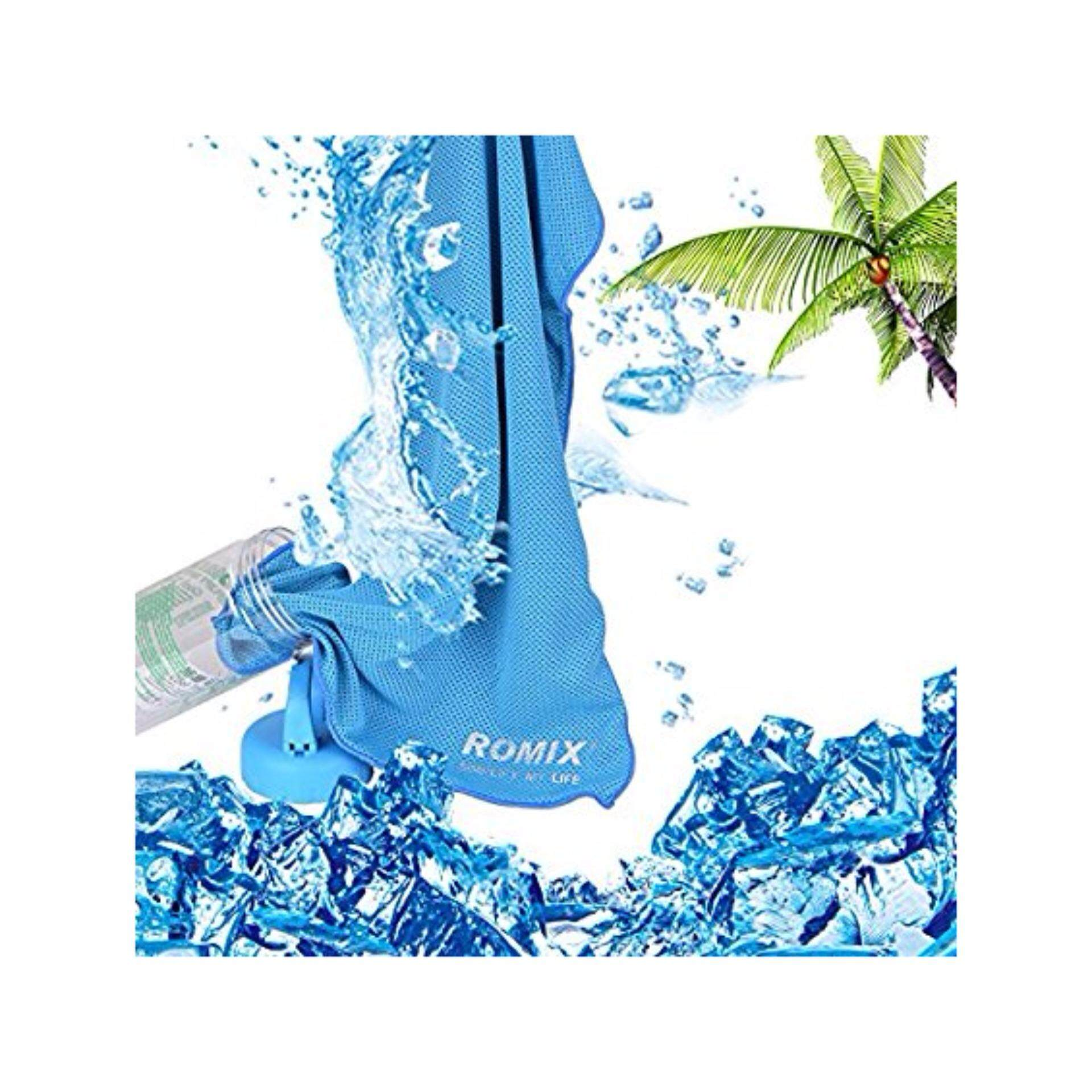 Myit New Arrival Strepsils Cool 12 Sachet 72 Pcs Cooling Towel Romix Ice Reuseable Running Cycling Hiking Outdoor Sports