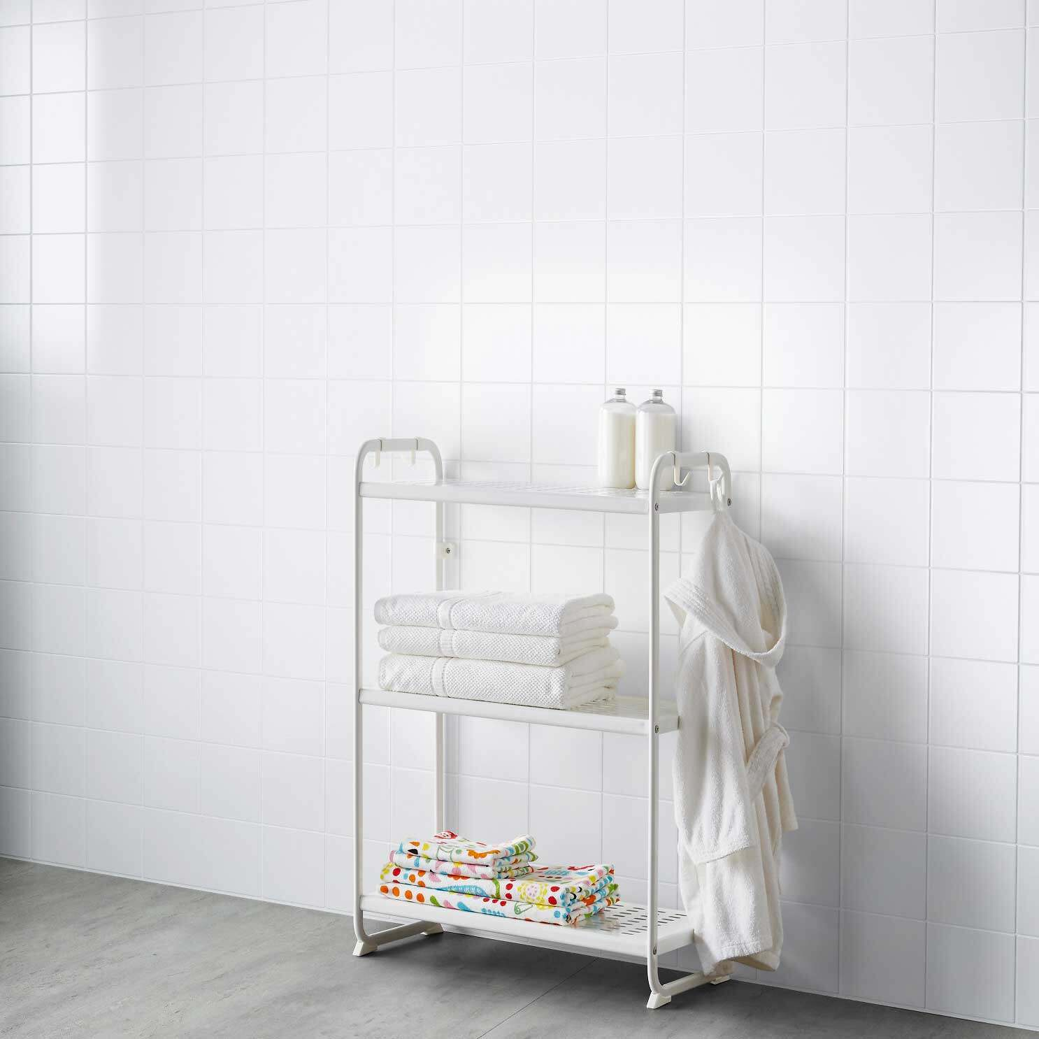 ikea 902 410 43 mulig shelves shelf rack storage white