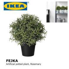 ikea fejka artificial potted plant rosemary mini fake plant decorative lifelike flower green plants office home