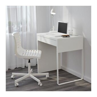 ikea micke home office desk writing study table computer table desk 73x50 cm white lazada. Black Bedroom Furniture Sets. Home Design Ideas