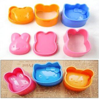 Harga ilovebaby Hand-Free Maker Rice Ball Mash Potato Mold Onigiri SushiMold Tray Maker Set