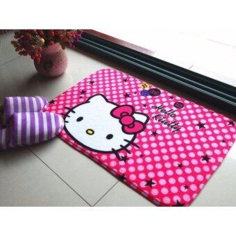 Harga Cartoon-Theme Non-Slip Bath Mat/Christmas Deco/New Year Deco - Kitty Star