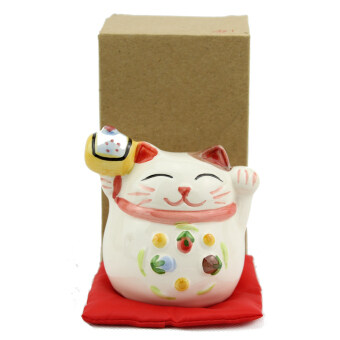 Harga Japanese Lucky Cat - Two Hands for Double Luck Invitation