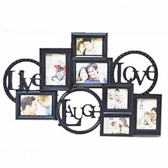 Harga LIVE,LAUGH,LOVE DESIGN PHOTO FRAME(7 SLOTS)